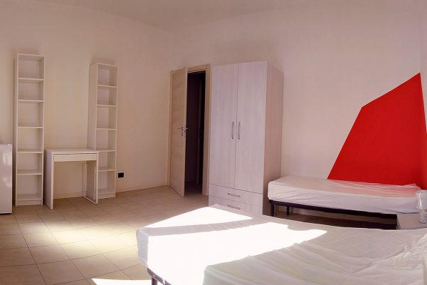 Camera doppia per city users Ma.Ri. House Torino - cohousing torino