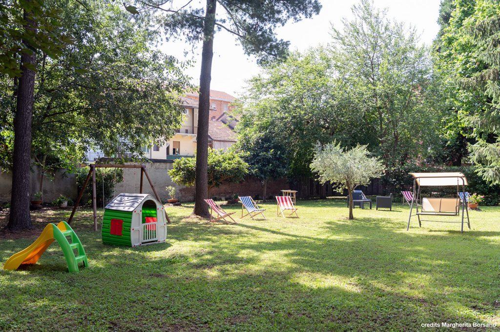 giardino - Mari House residenza temporanea per studenti universitari e lavoratori a torino