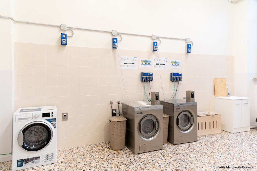 lavanderia - Mari House residenza temporanea per studenti universitari e lavoratori a torino