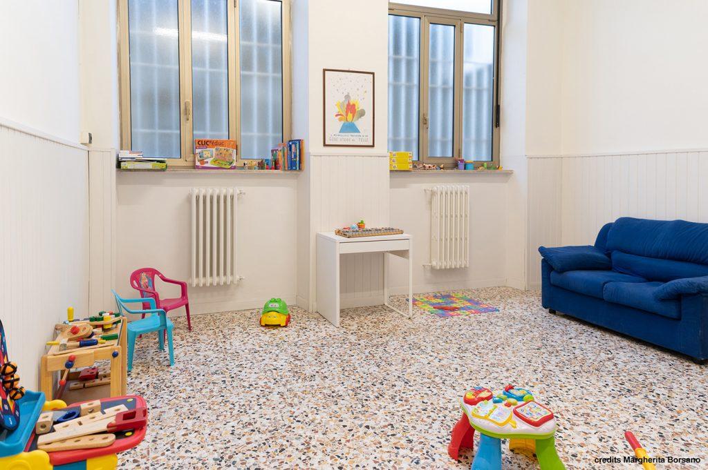 sala bambini - Mari House residenza temporanea per studenti universitari e lavoratori a torino